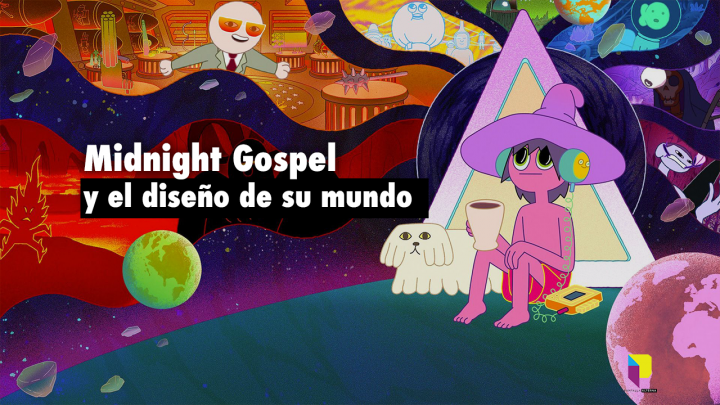 Midnight Gospel y el diseño de su mundo copia