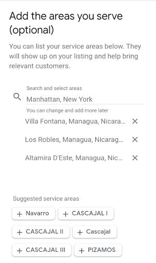 gmb areas de servicio