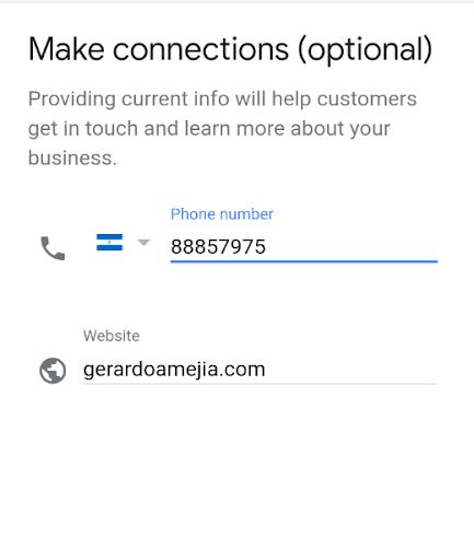 seo local telefono gmb